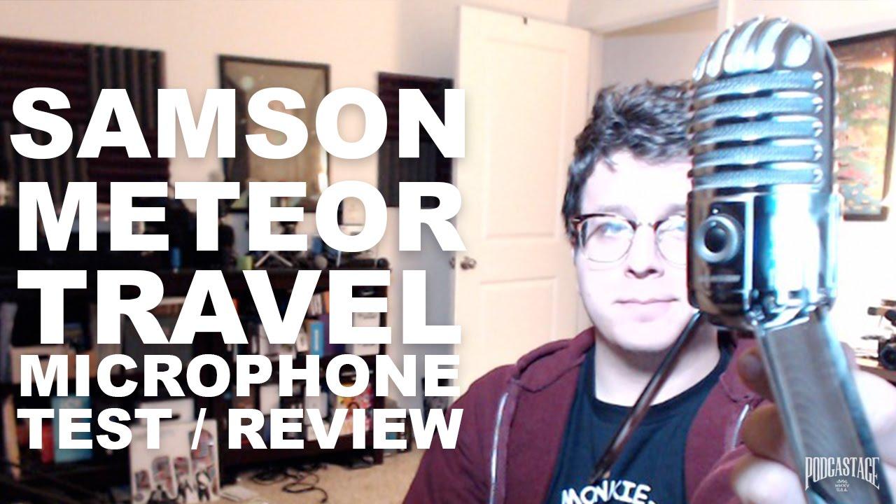 samson meteor usb microphone review test youtube. Black Bedroom Furniture Sets. Home Design Ideas