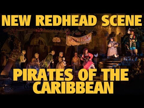 New Red Head Scene | Pirates of the Caribbean | Walt Disney World
