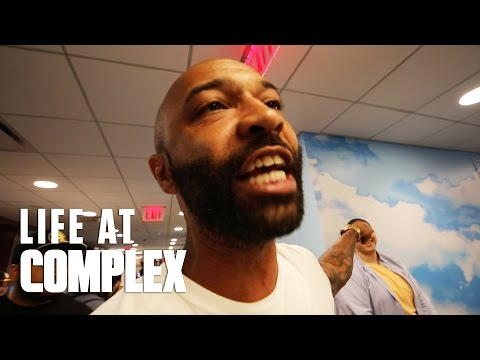 JOE BUDDEN FLIPS OUT ON COMPLEX EMPLOYEE! | #LIFEATCOMPLEX