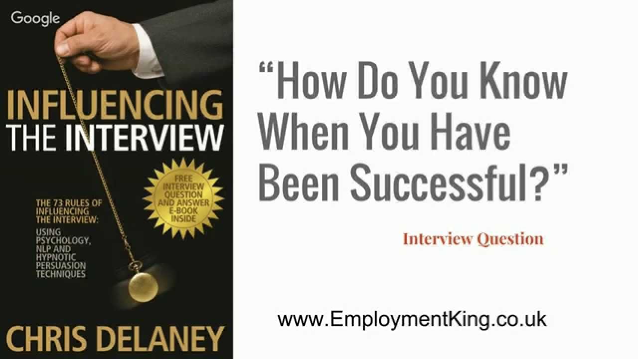 how do you know when you have been successful a task how do you know when you have been successful a task
