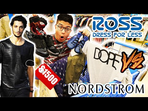 THE $100 CHALLENGE ROSS VS NORDSTROM!! **YOU WON'T BELIEVE THE PRICES**