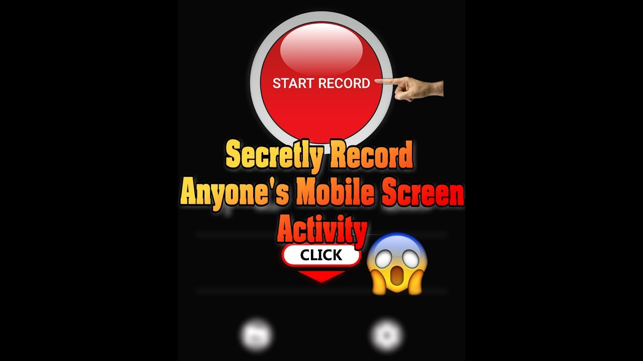 How to SECRETLY Record Mobile Screen Activity 😱 [Hidden Screen Recorder]