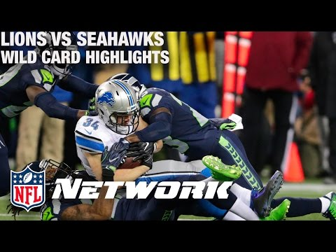 Lions vs. Seahawks Wild Card Game Highlights with Deion Sanders & LT | NFL Network | GameDay Prime