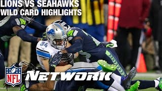 Lions vs. Seahawks Wild Card Game Highlights with Deion Sanders & LT   NFL Network   GameDay Prime