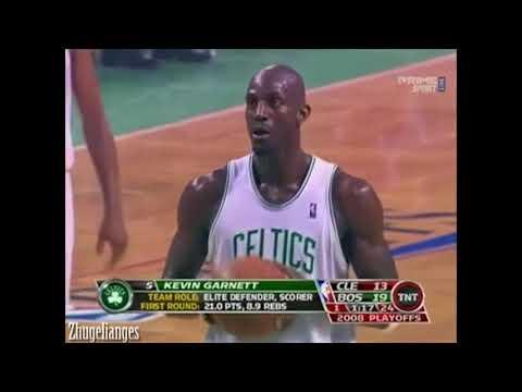 Kevin Garnett Greatest Games 2008 ECSF vs Cavaliers Game 1 (28 Pts 8 Rebs, Clutch!)