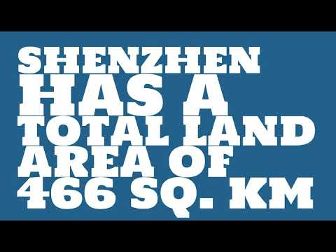 How does the population of Shenzhen rank?