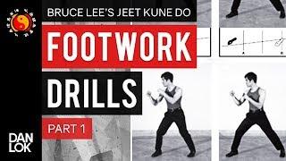 Bruce Lee JKD Footwork Drills Part 1