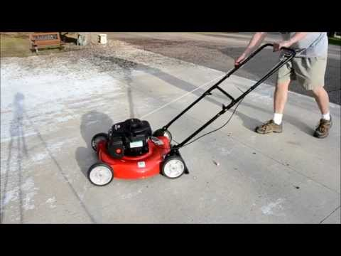 mtd 20 in 125cc ohv briggs \u0026 stratton walk behind gas lawn mower