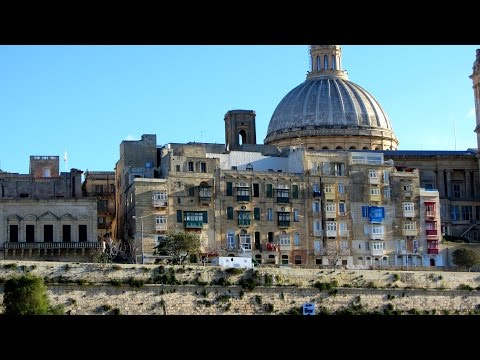 Malta, Valletta via Mosta to Mdina / Rabat.
