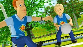Fireman Sam US full Episodes | World Cup Edition ⚽Sam's Soccer team: Pontypandy United🚒🔥Kids Movie