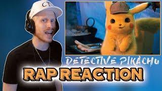 POKÉMON Detective Pikachu - Official Trailer #1 (RAP REACTION!!!)