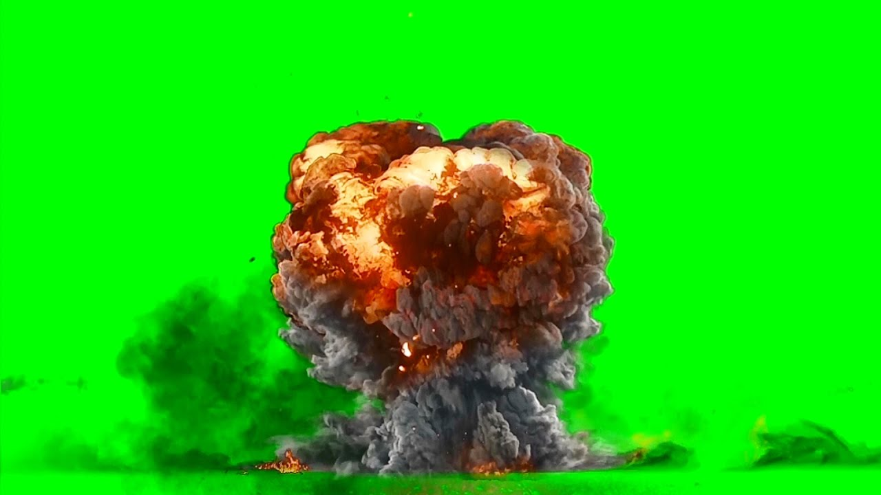 GREEN SCREEN EXPLOSION