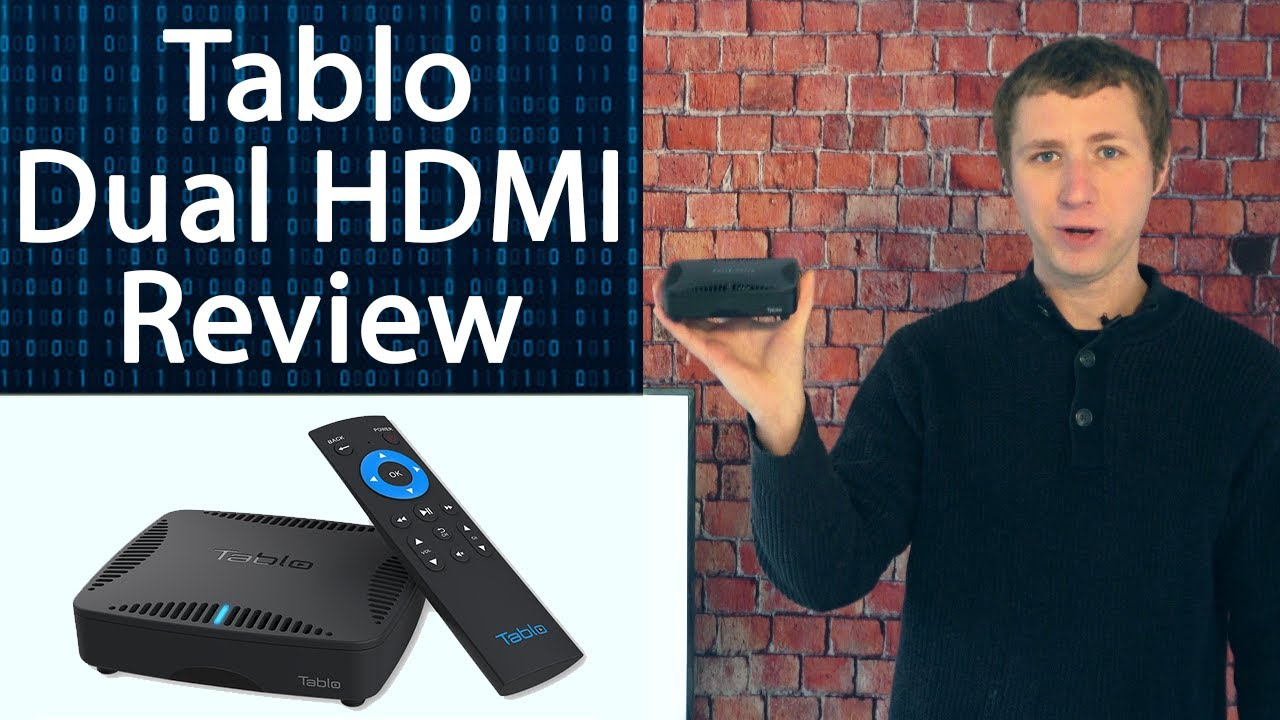 Download Tablo Dual HDMI Over the Air DVR for Antennas Review