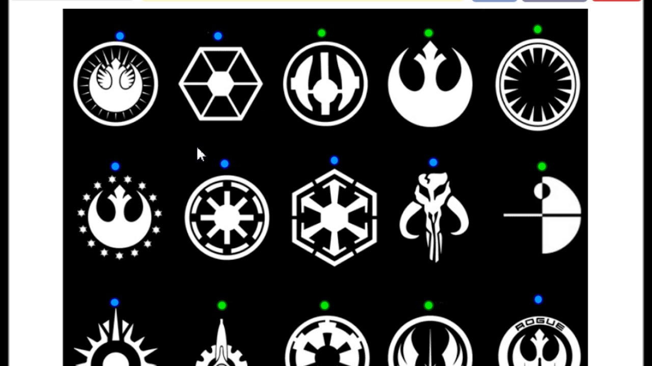 star wars iconography recognize the star wars logos youtube