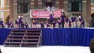 Flashmob Summertime Sadness + The Fox 11CA3  (Flashmob 26/3 THPT Chuyên Trần Đại Nghĩa TPHCM 220314)