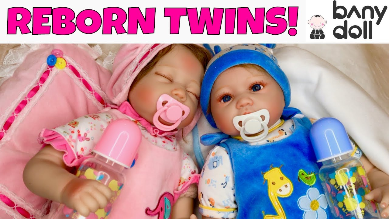 Download 🤩Adorable Reborn Twins From Bany Doll! 💞
