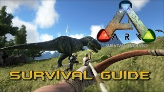 Ark Survival Evolved - Anfänger Guide ◈ Gameplay German Deutsch Let´s Play