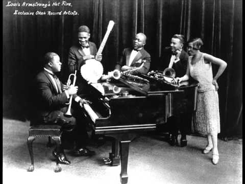 Louis Armstrong and His Hot Five - Lonesome Blues (1926)