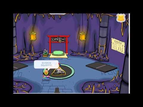 Club Penguin Shadow Dojo Found!