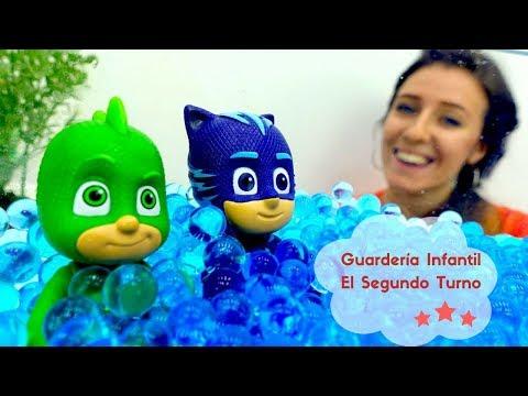 PJ Masks, Súper Wings y Octonautas en Guardería Infantil.