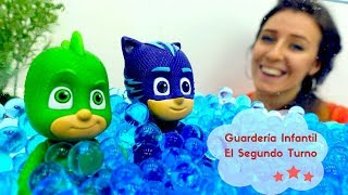 PJ Masks, Súper Wings y Octonautas en Guardería Infantil.