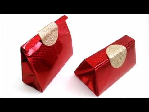 Diy origami gift packet bag super easy youtube negle Choice Image