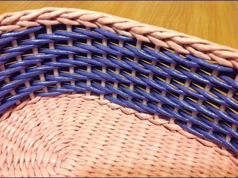 #23 Ситцевое плетение: Два способа. Мастер-класс. The Calico Weaving Tutorial. ENGLISH SUBTITLES.