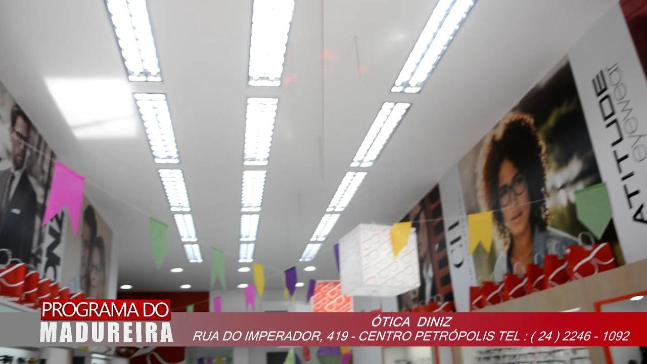 eb738ebbf49ce Programa do Madureira ótica Diniz - YouTube