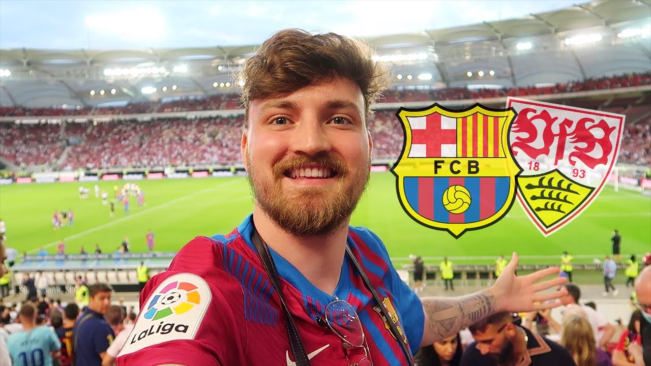 Download FC Barcelona vs. VfB Stuttgart - Stadionvlog   Nach 1,5 Jahren wieder Barça-Vlog 💙❤️   ViscaBarca