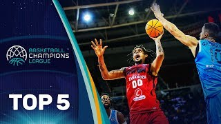 Top 5 Plays | Wednesday - Gameday 7 | Basketball Champions League 2019-20