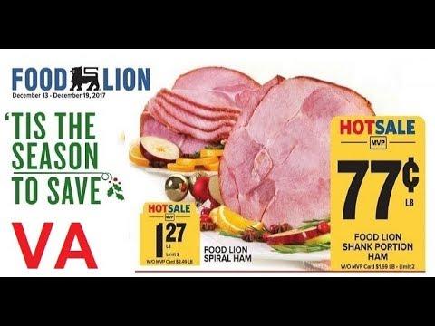 Food Lion Supermarket Weekly Ad VA 12/15 – 12/19