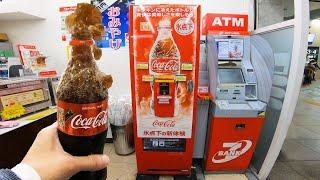 Instant Slushy Coke Vending Machine