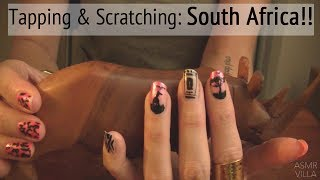 ASMR * Theme: Travel to South Africa * Tapping & Scratching * Fast Tapping * No Talking * ASMRVilla