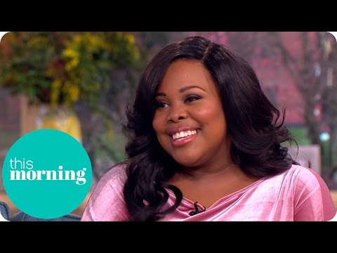 Amber Riley Is Learning to Live With the British Weather | This Morning