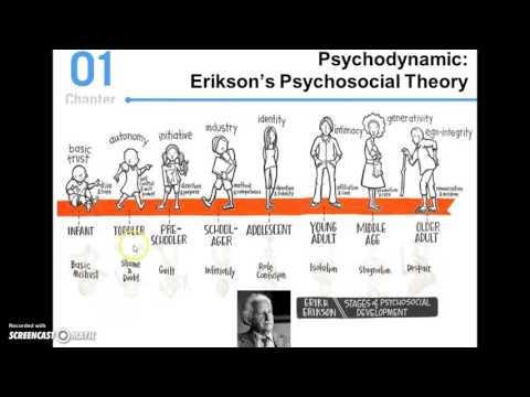 eriksons theory of psychosocial development