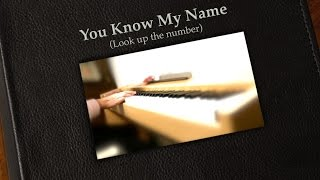 THE BEATLES : You Know My Name (Look up the number) - instrumental cover