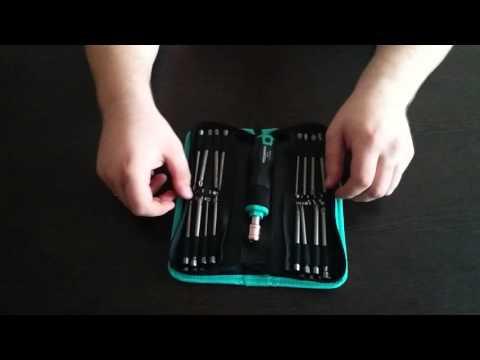 Набор длинных бит с рукоятью 33 предмета Whirlpower арт.27130081801