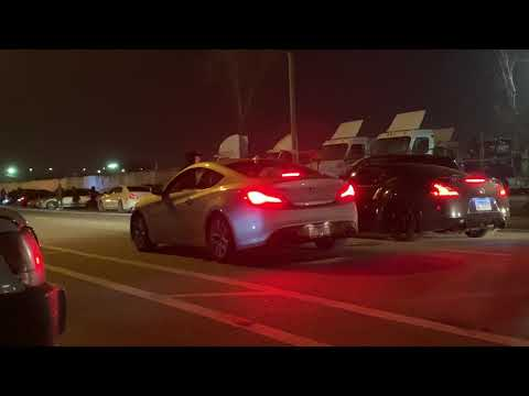 Illegal Street Racing - CHICAGO 2019 - Racing The Altima