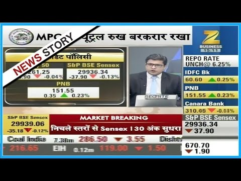 MPC's view on the rapo rates in RBI's credit policy