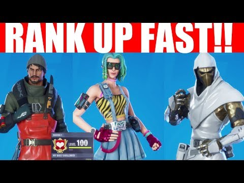 How To Level Up FAST + Get Tier 100 (Fortnite Chapter 2) RANK UP FAST! Season 11