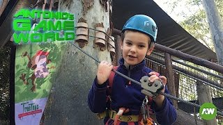 Treetop Adventure Park - Treetop Challenges for Kids outdoors  in Australian bush!