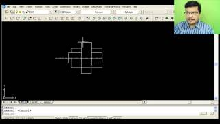 Cotter joint with Sleeve - Auto CAD Tutorial