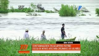 Contaminación del acuífero Patiño
