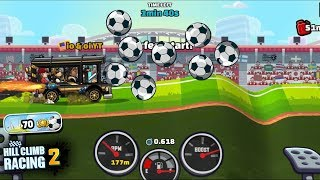 Hill Climb Racing 2 - New Goal Event ⚽ World Cup