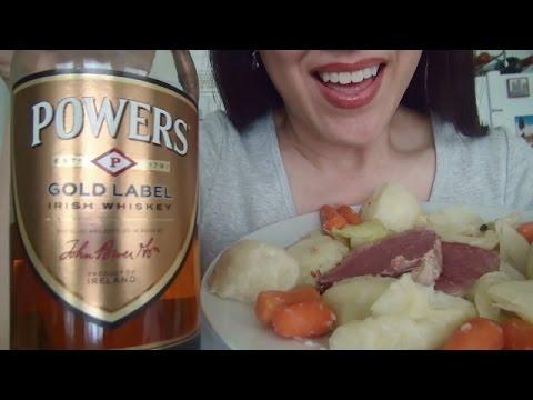 ASMR: Irish Corned Beef | Soda Bread | Eating Sounds