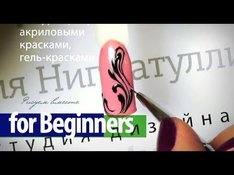 Видео Наращивание ногтей фото черный цвет