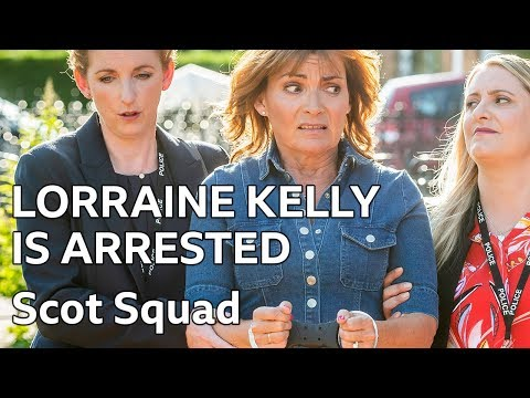 Lorraine Kelly Is Arrested After Complaints From Piers Morgan | Scot Squad