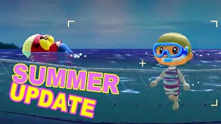 Summer Update is Here! Animal Crossing New Horizons