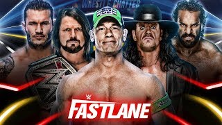 WWE Fastlane 2018 Final Updates Highlights Winners !