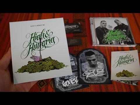 BONEZ MC & GZUZ - HIGH & HUNGRIG (Boxset) UNBOXING